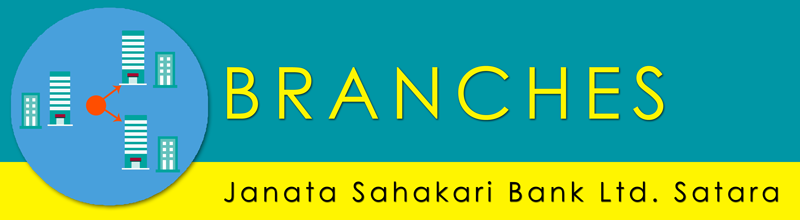 Branches Janata Sahakari Bank Ltd. Satara