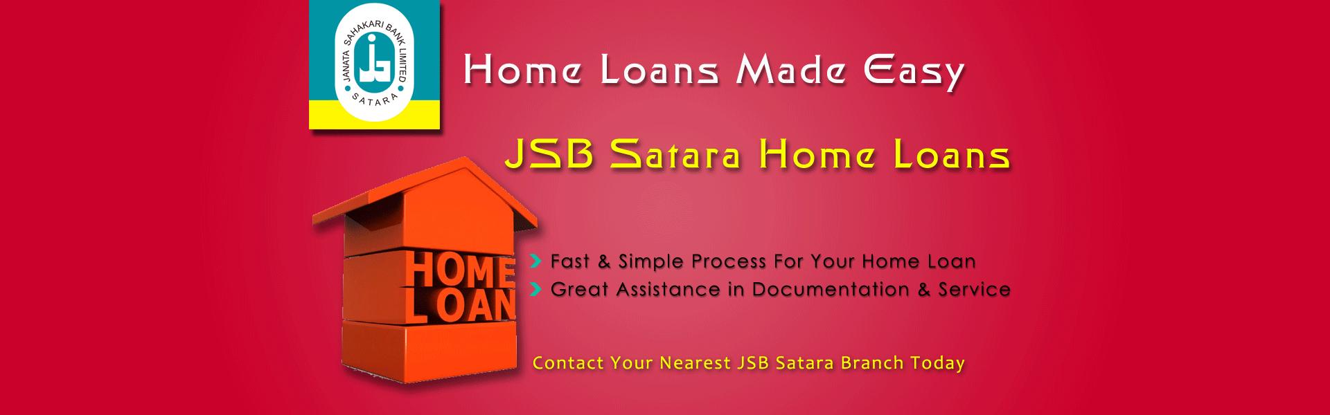 Home Loan Banner Janata Bank Satara